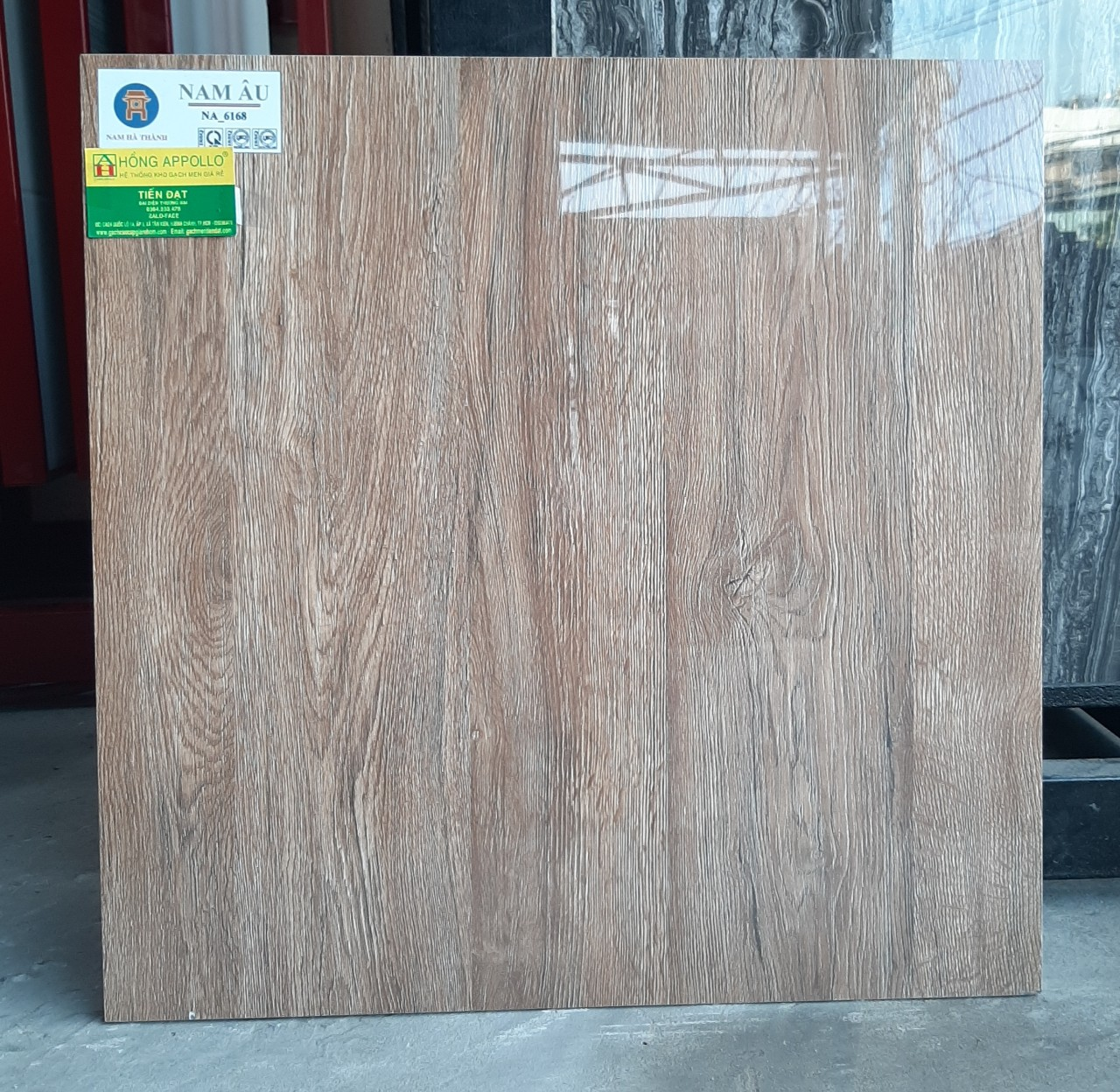 Gạch giả gỗ 60x60 cao cấp